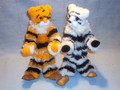 Tiger Marionette Puppet, Standing