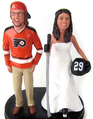 Sports Wedding Cake Toppers