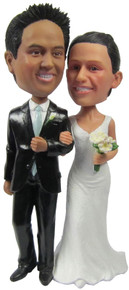 NEW!  Style #1 Attached Cake Toppers