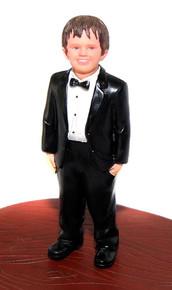 Ring Bearer Add-on Cake Topper Figurine