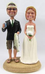 Fisherman Groom w/ Interchangeable Bride Style