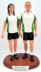 Soccer Football Player Cake Topper