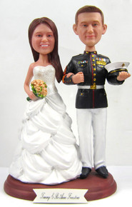 Marine Corps Wedding Cake Toppers