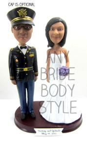 Army Officer ASU Uniform Groom w/ Interchangeable Bride Style