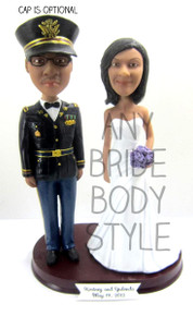 Army Officer ASU Uniform Groom w/ Interchangeable Bride Style