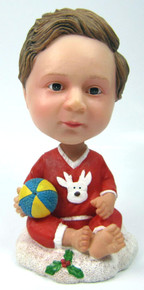 Baby  Bobble Head Figure with Ball
