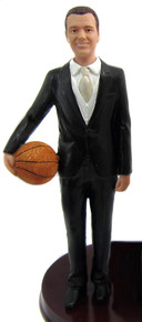 Tall Basketball Groom Figurine