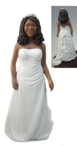 Jacqueline Cake Topper Figurine