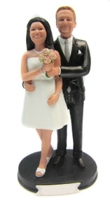 Happiness Wedding Cake Topper