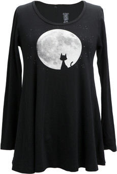 Cat Moon Tunic