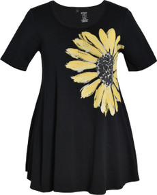 Daisy Tunic (Black)