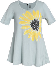 Daisy Tunic (Soft Teal)