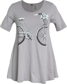 Bicycle Tunic (Grey)