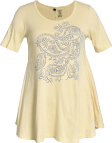 Paisley Birds (Yellow)