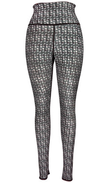 Clothes Cat & Houndstooth Reversible Leggings