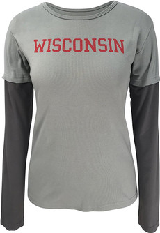 Wisconsin Double Up Tee