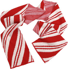 Peppermint Candy Cane Scarf