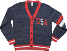 Americana Letterman Sweater