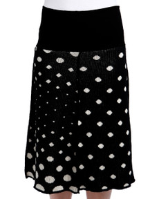 Polka Dot 4-Panel Skirt