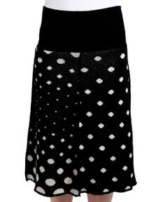 Polka Dot 4-Panel Skirt