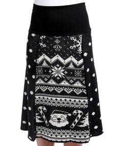 Santa 4-Panel Skirt
