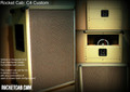 C-4 Custom vertical/horizontal, dual chamber, stereo/mono, convertible back.