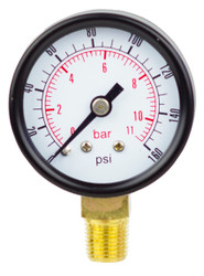 Pressure Dry Gauges Lower Mount (Front)