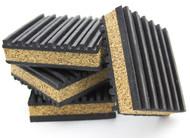 Anti Vibration Pads - Rubber & Cork