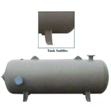 Manchester Tank Horizontal Air Receiver 1550 Gallons