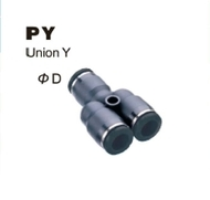 Push-To-Connect Fitting - Union Y