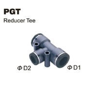 Push-To-Connect Fitting - Reducer Tee