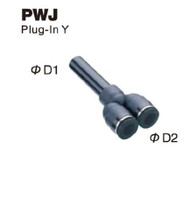 Push-To-Connect Fitting - Plug-In Reducer Y