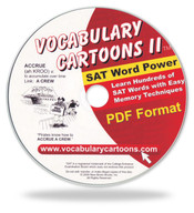 Vocabulary Cartoons II, SAT Word Power PDF Format