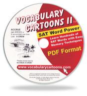 Vocabulary Cartoons II, SAT Word Power PDF Format