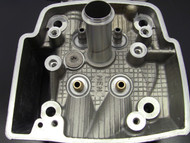 Cylinder head with Pro-1 Valve Guides (Gold - Bottom)