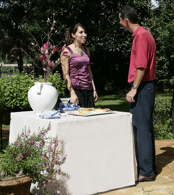 Tablevogue's fitted table cover for all your dining needs
