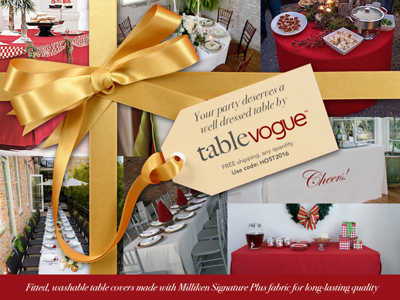 tablevogue is the only fitted table cover