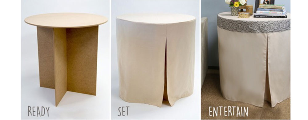 Bon Beautiful 30 Inch Round Decorator Table Decorations