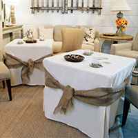 Tablevogue fitted table covers for the Home