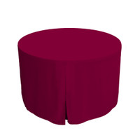 48-Inch Table Cover - Garnet