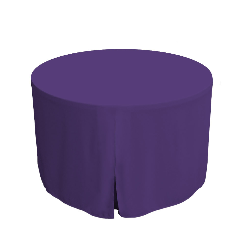... Fitted Round Table Covers 48-Inch Fitted Round Table Cover - Violet