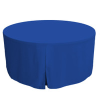 60-Inch Fitted Round Table Cover - Royale