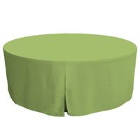 72-Inch Fitted Table Cover – Pistachio