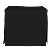34-Inch Fitted Table Cover - Black