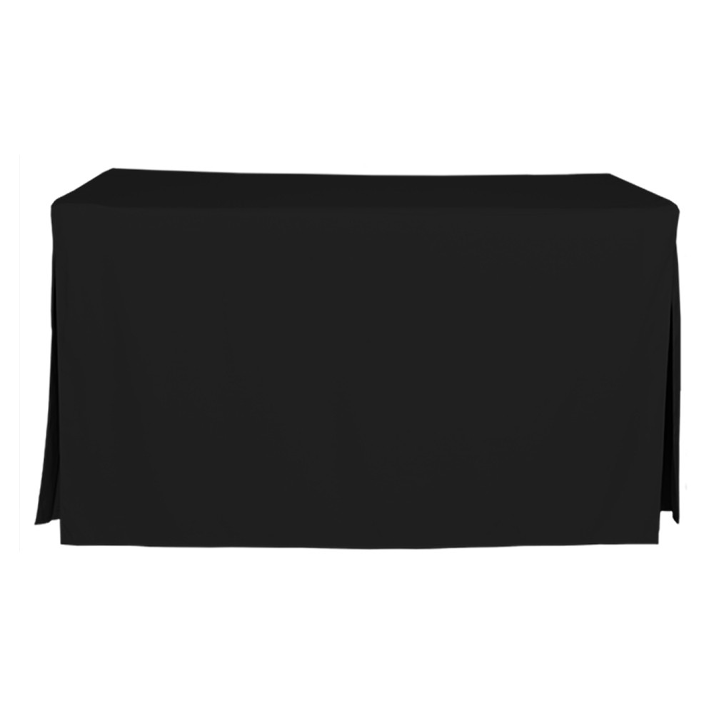 5 Foot Black Table Cover