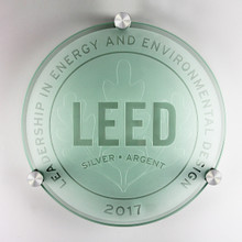 LEED Plaque - Silver