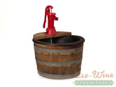 1/2 WINE BARREL FOUNTAIN