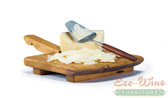 Our Cheese Platter has a large flat surface and long handle. This is a great platter for displaying your favorite cheese and crackers.