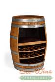 Wine Barrel Rack, Storage Handcrafted 2