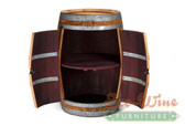 Wine Barrel Rack, Storage Handcrafted 4
